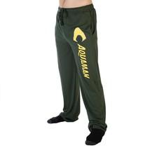 Aquaman Logo Men's Sleep Lounge Pants DC Comics Justice League Fan Superhero - $24.95