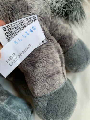 WEBKINZ Plush Gray Arabian Horse, GANZ Toy, Used, Nice Condition  image 9