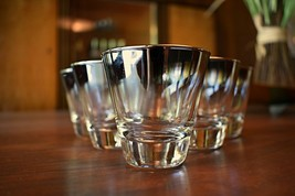 Set of 6 Dorothy Thorpe Style Silver Fade Shot Glasses - $60.00