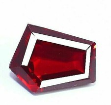Natural Ruby Loose Gemstone 11.95 Ct Certified Red Color Fancy Shape - $17.99