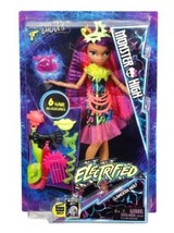 Monster High Electrified Monstrous Hair Ghouls Clawdeen Wolf Doll w/Acce... - $21.99