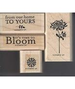 Stampin' Up! Bella's Bloom Set of 4 Retired - $49.99