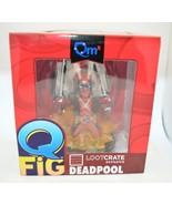 Marvel Deadpool Quantum Mechanics QMx Q-Fig Miniature Action Figure Figu... - $39.59