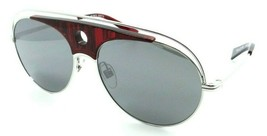 Alain Mikli Sunglasses A04010 001/6G 59-16-140 Toujours Red Dot Silver /... - $85.36