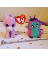 "*Magic* 2014 McDonald's Ty Teenie Beanie Boo 3"" Pink Unicorn + free Hatchimals - $12.58"