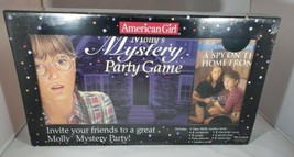 NEW & Sealed American Girl Doll Molly's Mystery Party Game & Book Set - $32.66