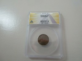 1916-S  Lincoln Penny , GOOD-4 Damaged , ANACS - $9.90
