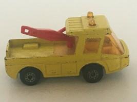 Lesney Matchbox Superfast No. 74 Toe Joe Toy Tow Truck Yellow 1972 England Loose - $8.49