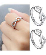 [Jewelry] 2pcs Big Sissy Lil Sister Ring for Family Friendship Gift - Si... - $215,35 MXN