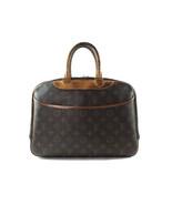 Authentic LOUIS VUITTON DEAUVILLE Monogram Canvas, Leather Hand Bag Purs... - $279.00