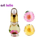 ArtLalic® 1 Bottle 15mL Dry Dried Flowers Nourishment Oil Nail Cuticle T... - $3.74