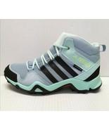 Adidas Terrex AX2R Mid CP K BC0672 Blue/Mint/Black Mid Boots Size 5.5 - $79.19