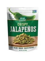 Fresh Gourmet Crispy Jalapenos, Lightly Salted, 3.5 Oz Pack Of 6