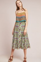 NWT ANTHROPOLOGIE ZAVORA BEADED MIDI DRESS by TANVI KEDIA XL - $90.24