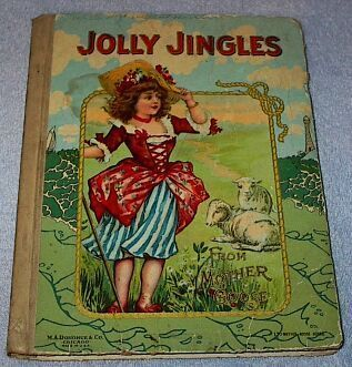 Old Antique Jolly Jingles from Mother Goose Book