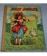 Old Antique Jolly Jingles from Mother Goose Book - $25.00