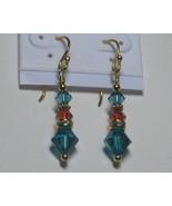 Indicolite drop earrings - $10.00