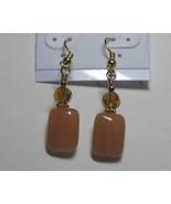 Sandal and brown earrings - $5.00