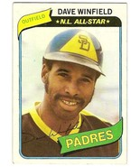 Dave Winfield N L All- Star Baseball Card  # 230   - $3.95