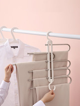 1Pc Multifunctional Seamless Retractable Folding Multi-layer Pants Rack Househol - $17.04