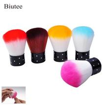 Biutee New Colorful Nail Tools Brush For Acrylic & UV Gel Nail Art Dust ... - $8.13
