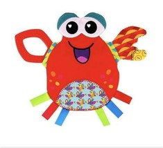 Tomy Lamaze Jack The Crab Crinkles Teether 0+ Months Baby Crinkle Toy OP... - $8.90