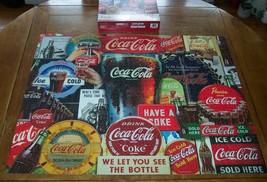 """Coca-Cola COKE Soda Decades of Tradition SPRINGBOK JIGSAW PUZZLE 34"""" X 4... - $34.65"""