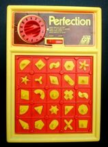 Vintage 1980s PERFECTION 100% Original, Working & Complete Boxed Game Action GT image 3