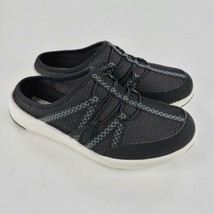Clarks Womens Darleigh Myra Breathable Cushioned Black Sneaker Size 7 M - $43.56