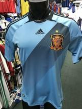 Adidas Spain Away Soccer Jersey Original Size M~España Celeste - $69.29