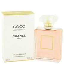 Chanel Coco Mademoiselle Perfume 3.4 oz Women's Eau De Parfum Spray image 2