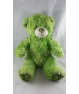 BUILD A BEAR St. Patrick Day Bear Clover feet Shamrock Green w/ sounds F... - $17.72