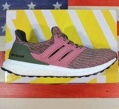 Adidas UltraBOOST 4.0 Maroon Olive Green White Running Shoes [BB6495] Wo... - $100.44