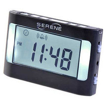 Serene Vibrating Travel Alarm Clock (VA3) - $45.50
