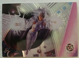 1994 Fleer Ultra X-Men Storm #1 Portrait Marvel Insert Trading Card NM/M  - $4.54