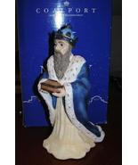 Coalport Nativity Collection Wise Man with Blue Crown * - $229.95