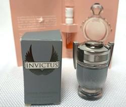 Invictus By Paco Rabanne .17oz/5ml eau de toilette  Mini For Men New In Box - $22.49