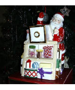 Lenox Holiday Village Musical Candy/Cookie Box  - $24.95