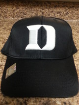 Duke Blue Devils NCAA TOW Black Stretch Fitted Hat New - $15.99