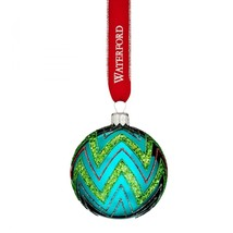 Waterford 2016 Brights Powerscourt Ball Holiday Heirlooms Ornament # 400... - $40.39