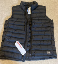 NEW Gap Kids Boys Primaloft Puffer Vest Size Large Black NWT - $42.06