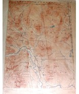 USGS Topographic Map, NH-ME, 1896/1904 , No. Conway Sheet - $15.00