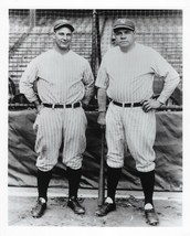 BABE RUTH & LOU GEHRIG 8X10 PHOTO NEW YORK YANKEES NY BASEBALL PICTURE S... - $3.95