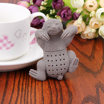 Cute Sloth Silicone Tea Infuser Tea Strainer Filter Loose Tea Spices Inf... - £3.22 GBP