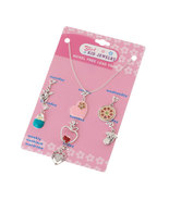 Girls Kid Jewelry Daily Seven Charm Pendants an... - $12.00
