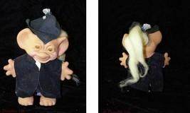 Vintage Troll Doll Figure Cute Graduate Wishnik Uneeda Doll 1966 - $26.99