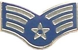 Air Force Usaf E-4 Senior Airman Star Rank Lapel Pin - $11.72
