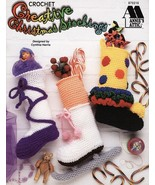 Creative Christmas Stockings Crochet Patterns Book Annies  - $21.95