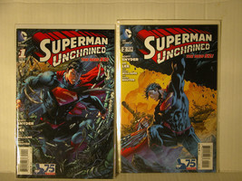 SUPERMAN UNCHAINED - JIM LEE - 1 AND 2 - FREE SHIPPING TO U.S & CANADA! - $12.20