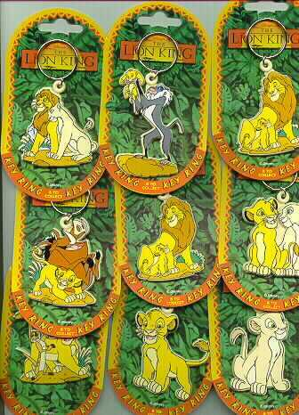 Disney Lion King Nala Key Chain rare